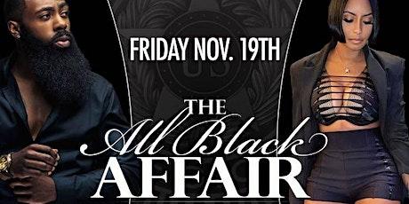 The All Black Affair tickets