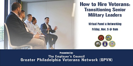 How to Hire Veterans: Transitioning Senior Military Leaders tickets