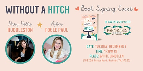 Without a Hitch Book Signing tickets