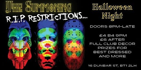 RIP Restrictions: Halloween Night at LUX tickets