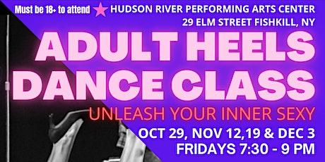 Adult Heels Dance Class - Unleash your inner sexy tickets
