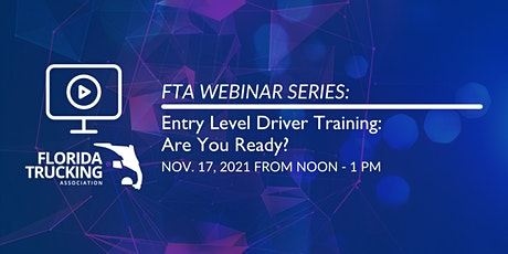 Entry Level Driver Training: Are You Ready? tickets