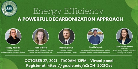 Energy Efficiency Virtual  Panel - A Powerful Decarbonization Approach biglietti