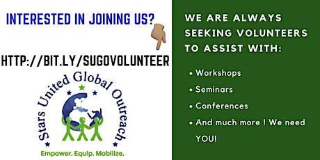 November Volunteer training & Information Session tickets