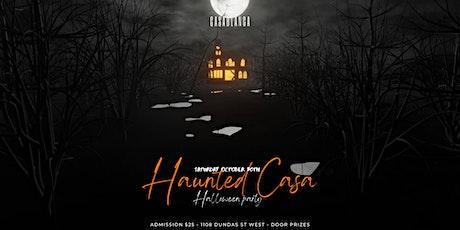 HALLOWEEN HAUNTED CASA tickets