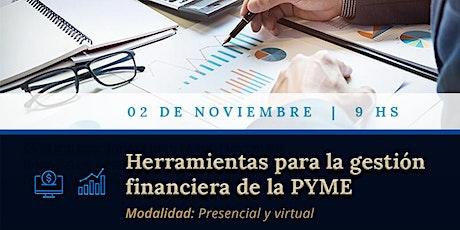 Herramientas para la Gestión Financiera Pyme entradas