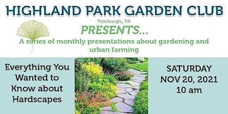 Highland Park Garden Club Presents... Hardscaping tickets