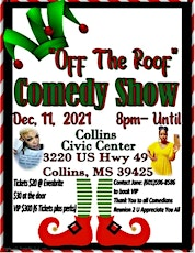 OFF THE ROOF COMEDY SHOW tickets