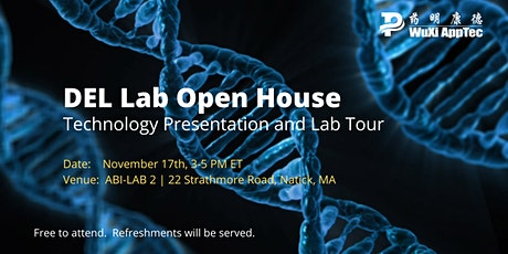 WuXi AppTec DEL Lab Open House tickets