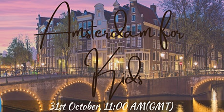 LIVE Walking Tour : Amsterdam for Kids tickets