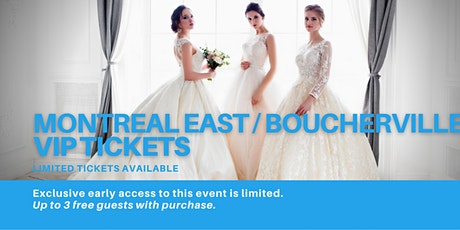 Montreal East / Boucherville Pop Up Wedding Dress Sale VIP Early Access tickets