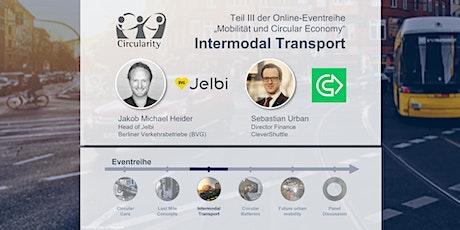 Mobilität und Circular Economy:  Intermodal Transport tickets