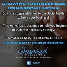 Growing Your Business Using Social Media - ZOOM! tickets