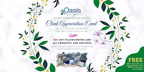 10-12 Nov, 2021 CLIENT APPRECIATION EVENT 20% OFF tickets