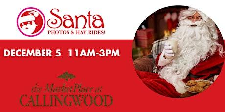 Callingwood Santa Photos & Hay Rides tickets