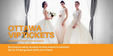 Ottawa East Pop Up Wedding Dress Sale VIP Early Access tickets