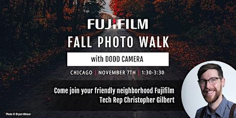 Fall Photo Walk Sponsored by Fujifilm tickets
