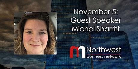 VIRTUAL Northwest Meeting November 5: Guest Speaker Michel Ann Sharritt tickets