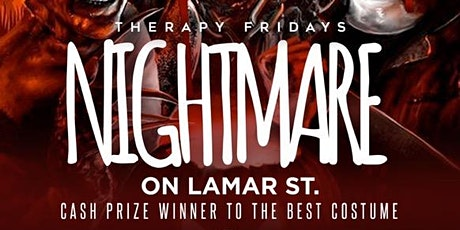 #TherapyFridays Nightmare on Lamar St. Halloween Costume Contest tickets