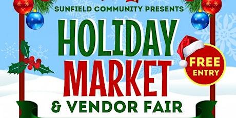 Holiday Market & Vendor Fair tickets