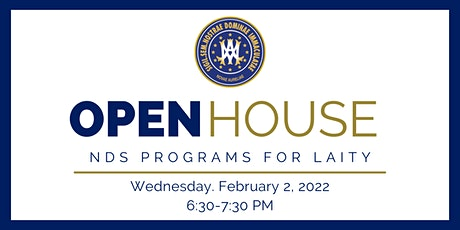 NDS Programs for Laity OPEN HOUSE tickets