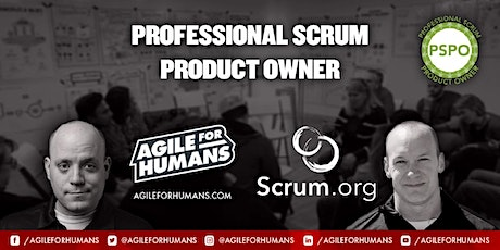 Professional Scrum Product Owner ONLINE Certification Class (PSPO I) ingressos