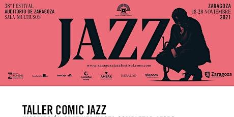 Taller de Jazz y cómic entradas