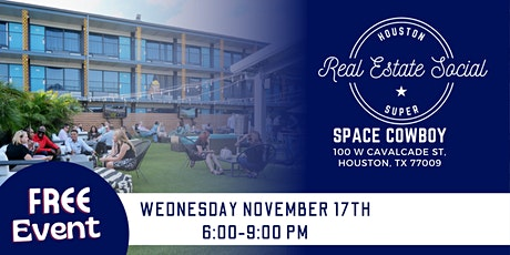 Houston Real Estate Social 11/17/21 tickets