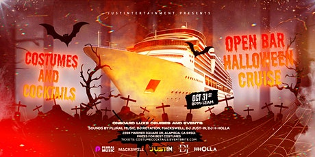 Costumes and Cocktails Open Bar Halloween Cruise tickets