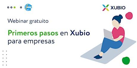 Webinar Arg: Primeros pasos en Xubio -  Empresas entradas
