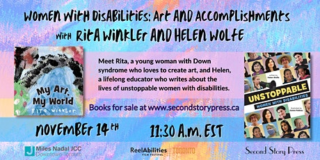 Women with Disabilities:  Art and Accomplishments tickets