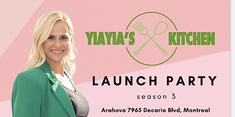 Yiayia's Kitchen Season 3 Launch Party tickets