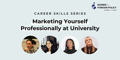 [ONLINE] Marketing Yourself Professionally at University tickets