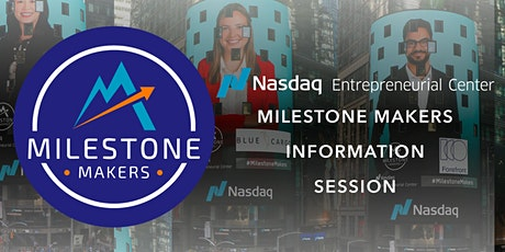 Winter 2022 Milestone Makers Information Session 3 tickets
