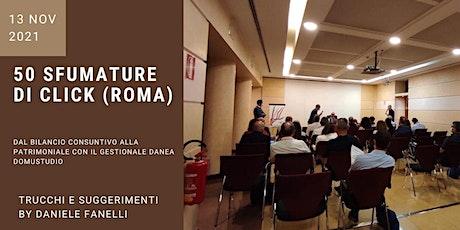 50 sfumature di click (ROMA) tickets