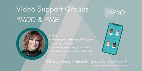 IAPMD Peer Support For PMDD/PME -Melissa's Group tickets