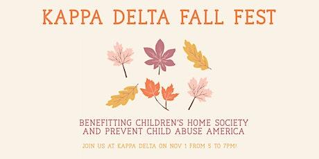 Kappa Delta Fall Fest tickets