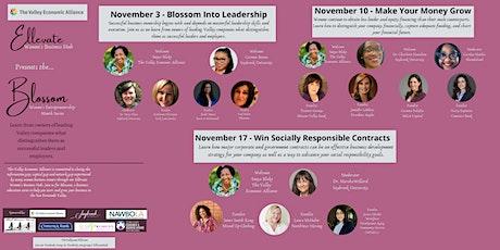 Ellevate Women's Entrepreneurship Month Series – Blossom Into Leadership tickets