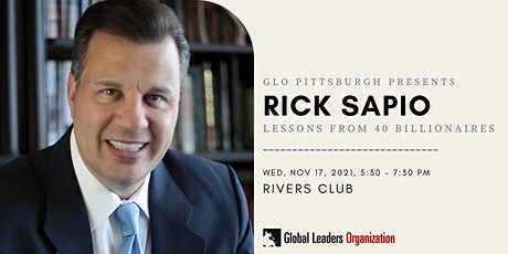 GLO Pittsburgh- Lessons from 40 Billionaires tickets