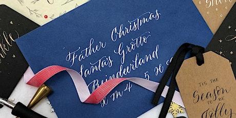 Christmas Modern Calligraphy Workshop tickets