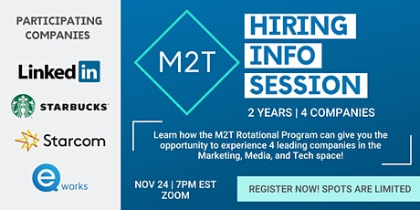 M2T Collective Info Session tickets