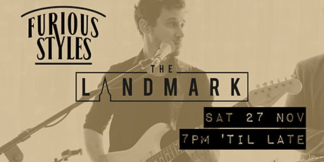 Furious Styles LIVE at The Landmark, Burnley tickets