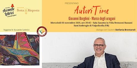 AutoriTime con Giovanni Borghini biglietti