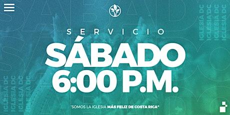 Servicio Sábado 6:00p.m. | IglesiaDC entradas