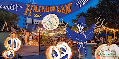 Halloween au jardin de la Pépinière tickets
