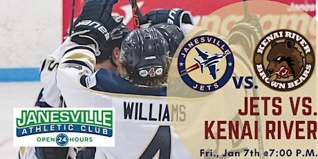 Fri Jan 7th Jets vs. Kenai River Brown Bears (G34) tickets