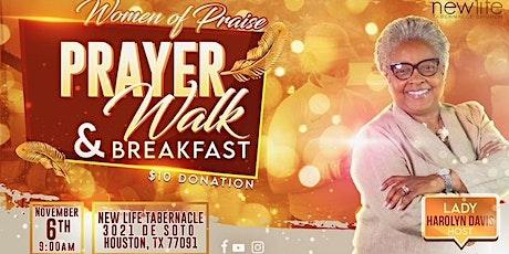 WOMEN OF PRAISE  PRAYER WALK AND BREAKFAST tickets