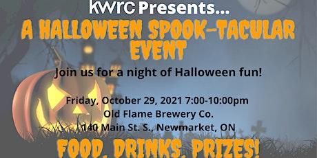 KWRC Halloween Spook-tacular tickets