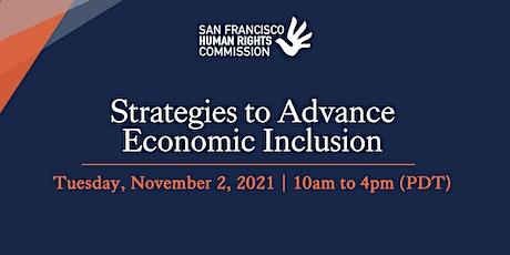 Strategies to Advance Economic Inclusion tickets