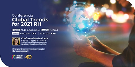 Conferencia: Global Trends for 2021 RH tickets